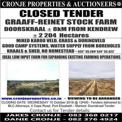 Property For Sale in Graaff Reinet, Graaff Reinet